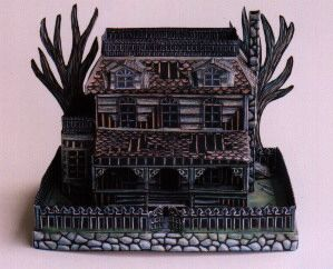 92 best dwellings haunted houses images on pinterest haunted a free haunted house model to print out and enjoy pronofoot35fo Gallery