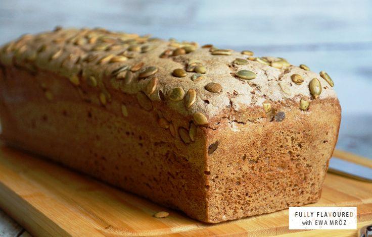 Pyszny domowy chlebek na moim pierwszym zakwasie :) . Chleb żytni razowy 100 % na zakwasie & przepis na zakwas chlebowy żytni ...