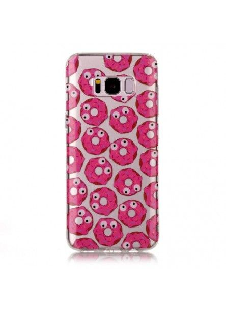 Coque Samsung Galaxy S8 - Donuts Monster