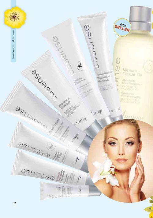 Annique's Essence range for specific skin problems. Annique Health & Beauty November 2017 Beaute.