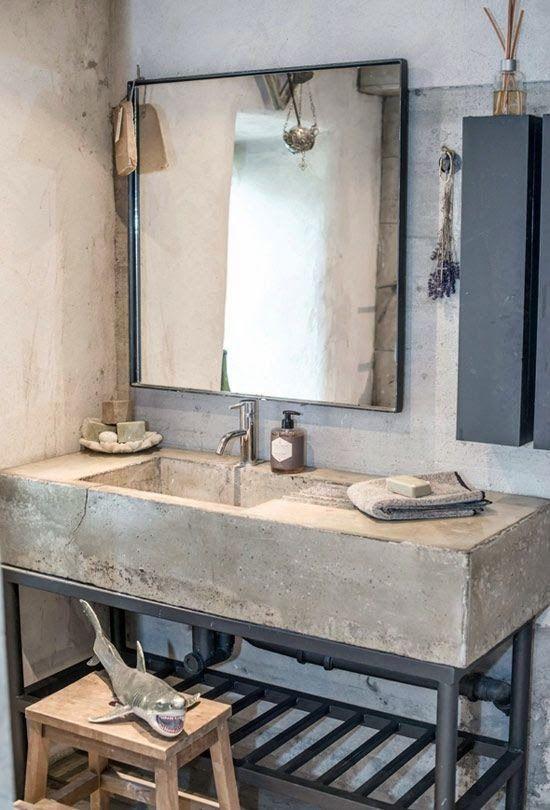 Casinha colorida: Estilo loft: quartos e banheiro