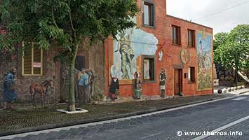 Tinnura murales, folclore and history