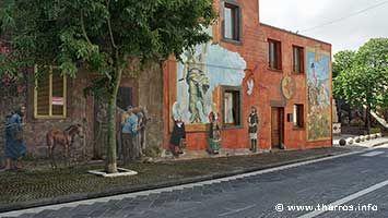 Tinnura murales, folclore and history