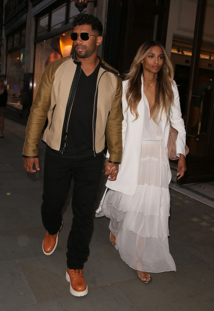 Ciara and Russell Wilson Step Out For the First Time Since Their Surprise UK Wedding