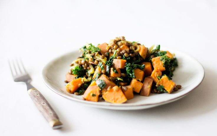 Marco Borges' Moroccan Lentils with Sweet Potato