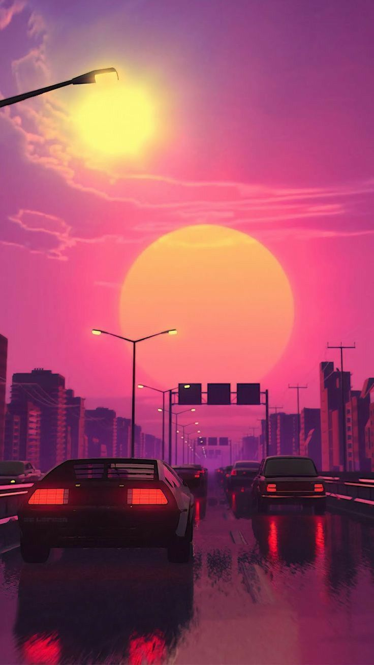 All Synthwave Retro And Retrowave Style Of Arts Synthwave Chill
