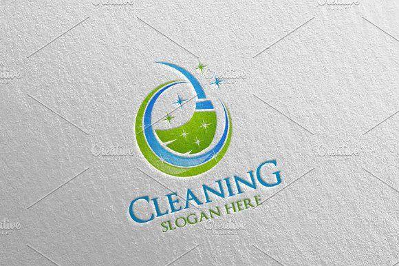 Cleaning Services Vector Logo Vector Logo Cleaning Service Logo Cleaning Company Logo