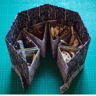 Decoración de cajas « Manualidades, labores y artesanía | exporosa.net