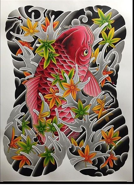 17 best ideas about female back tattoos on pinterest for Where to buy koi fish near me