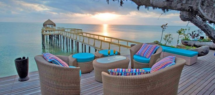 Dugong Beach Lodge This luxurious beach lodge is located in a wildlife sanctuary in Mozambique. Enjoy the white sands, translucent waters, and fascinating coastal wildlife in the most luxurious of settings.