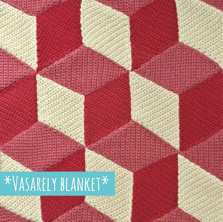 Vasarely blanket~ FREE download