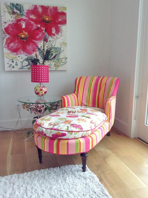 17 best images about kid 39 s pink chaise slipcover on for Chaise cushion slipcover