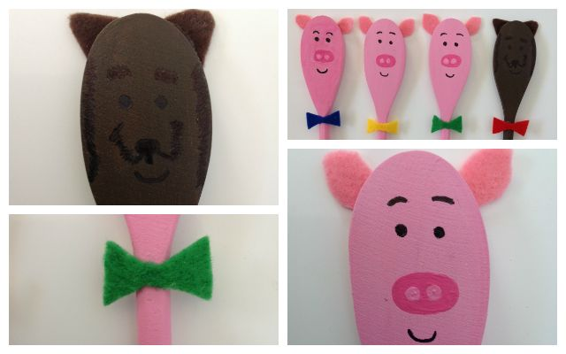 Wooden spoon puppets are fun and very easy to make. This is a great weekend activity to do with your kids.