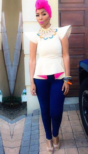 Nhlanhla Nciza's clothing line