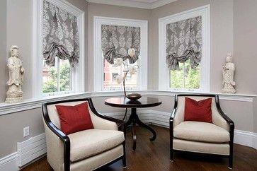 Scott R. Clark - eclectic - roman blinds - boston - Smith + Noble