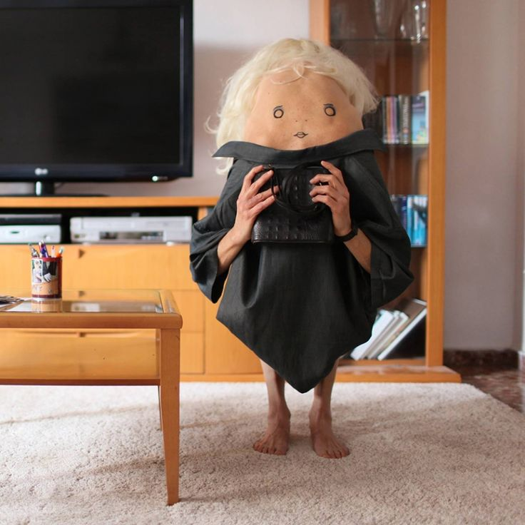 Secret Friends: Bizarre photos that literally bend over backwards to make you smile | Creative Boom