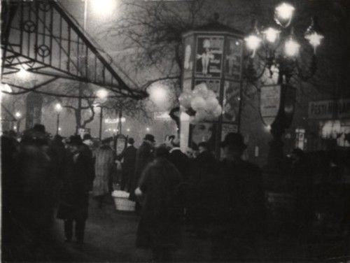 Evening in Budapest, 1928