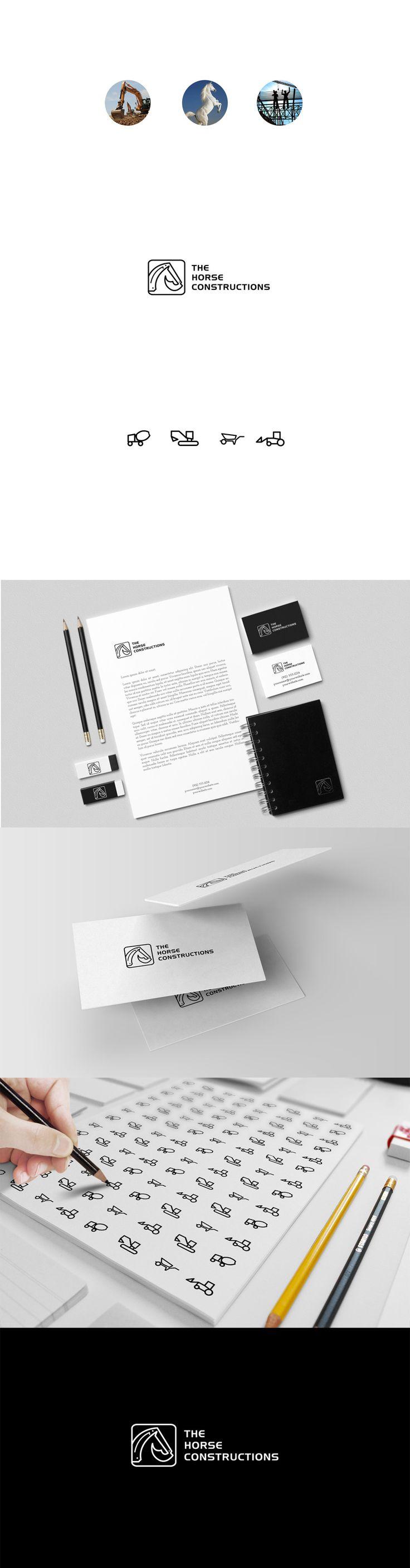 Construction Company Identiity Designs: 17 Inspirational Projects iBrandStudio