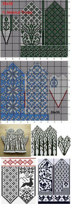 Жаккардовые узоры спицами: схемы для новичков и профи | вязание(жаккард,вышивка) | Постила