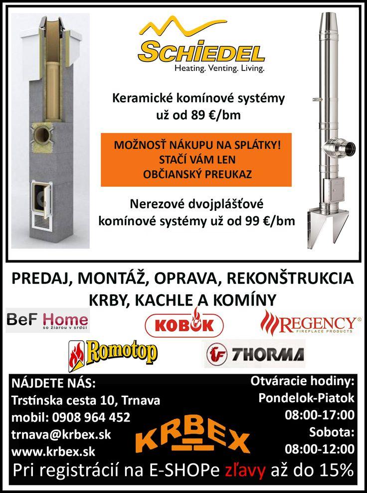 Naša reklama v regionálnych novinách eshop.krbex.sk  #komín #krb #kachle