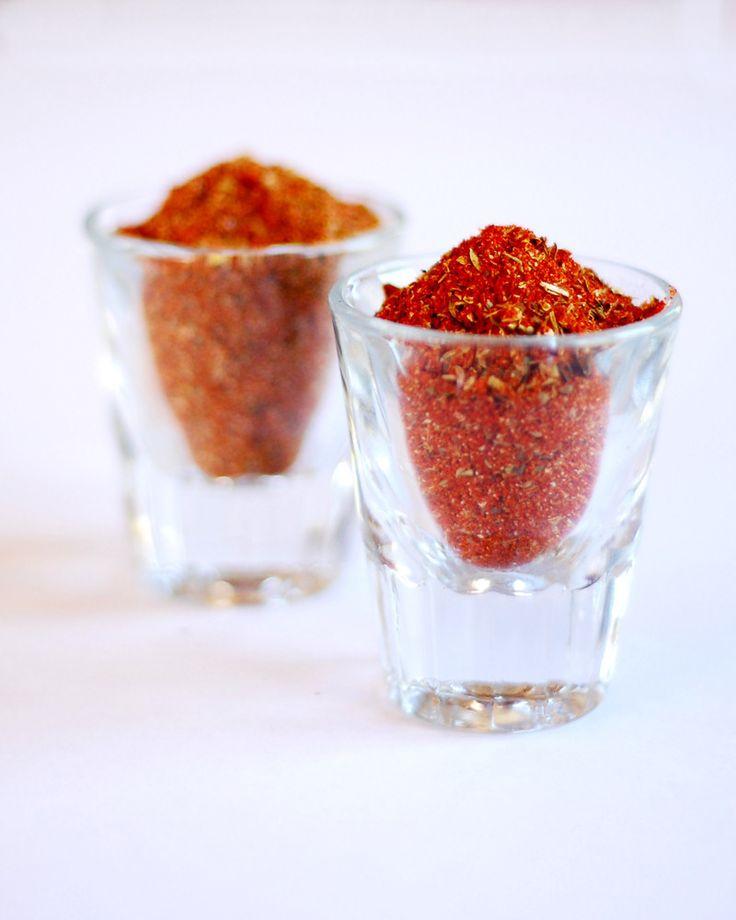 Taco Seasoning and Chili Powder