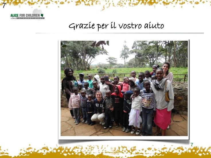 """spazio81 ringraziamenti da """"alice for children"""" - exhibit by talitha puri negri"""
