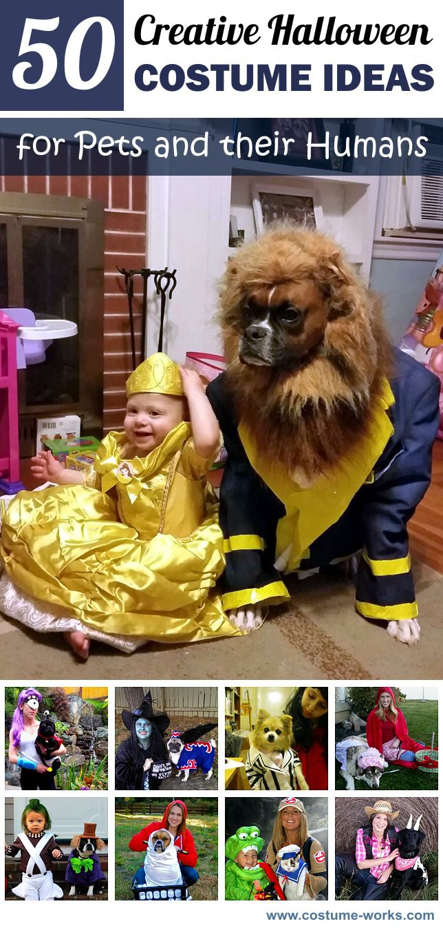 50 Creative Halloween Costume Ideas for Pets and their Humans