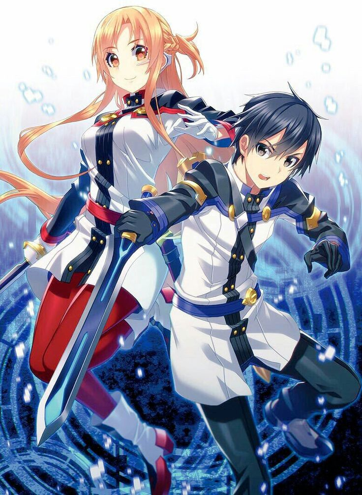 Sword Art Online - Ordinal Scale || Asuna and Kirito