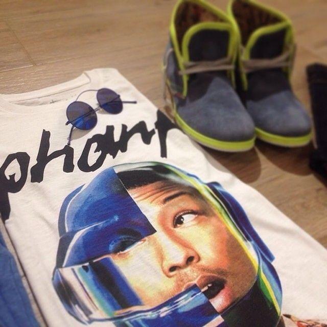 Bazaretto for Tee Trend #bazaretto #daftpunk #pharrell #tshirt #teetrend #outfit
