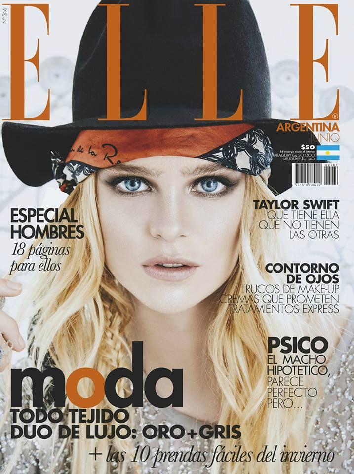 Inna Moll - Elle Argentina, June 2016 (María Ignacia Moll Bilbao)