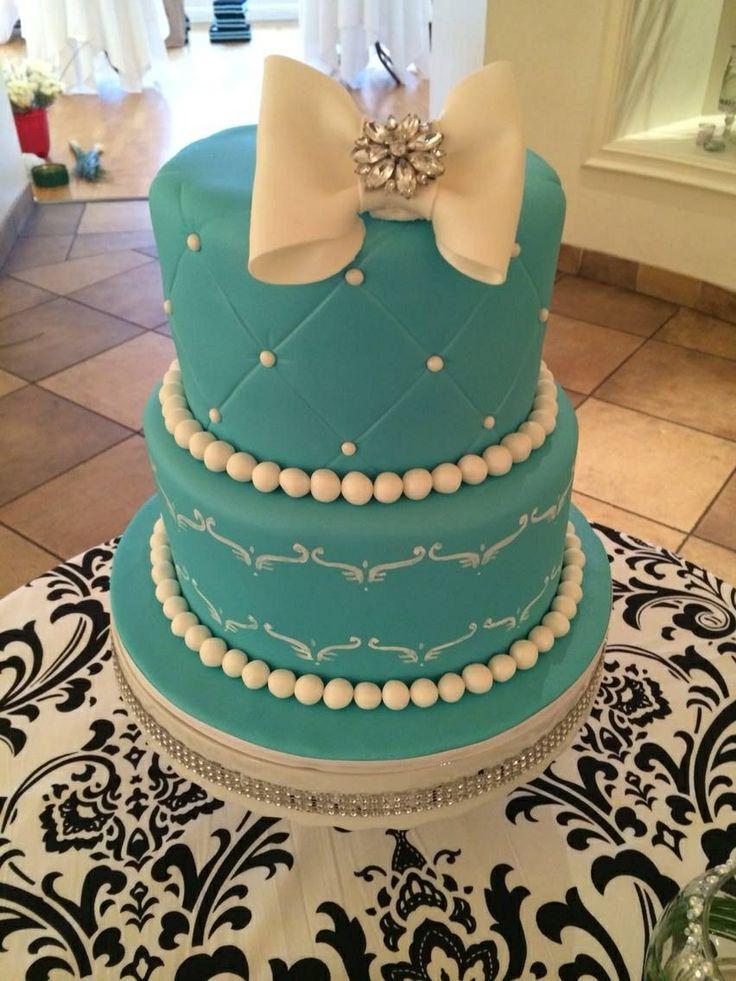 Breakfast at Tiffany's Cake | Breakfast at Tiffany's ...