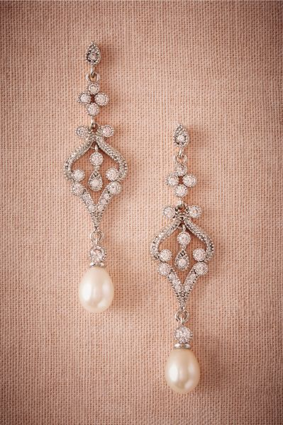 Bijoux de mariée avec des perles 2017 : classe et tradition au rendez-vous Image: 18