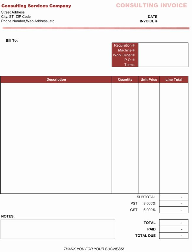 Invoice Template For Consulting Services Beautiful 3 Consulting Invoice Templates To Make Quick Invoice Template Word Invoice Template Invoice Design Template