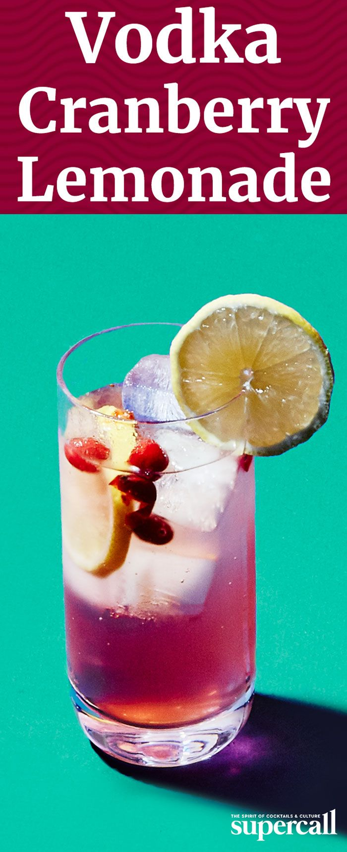 This variation on the Tom Collins gets a tart and tangy bite from muddled fresh cranberries and lemon. As easy to make as it is to drink, it's simple enough for a quick afternoon aperitif and pretty enough to serve at a cocktail party.