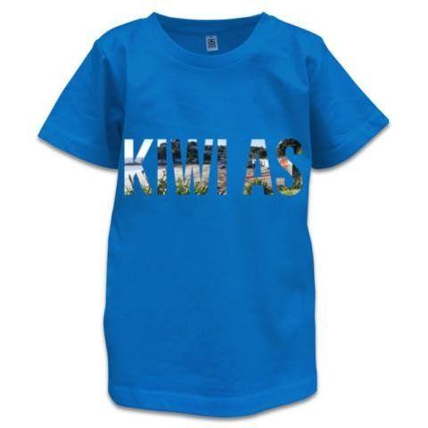 NZ Children's T-Shirt - Kiwi As Photo