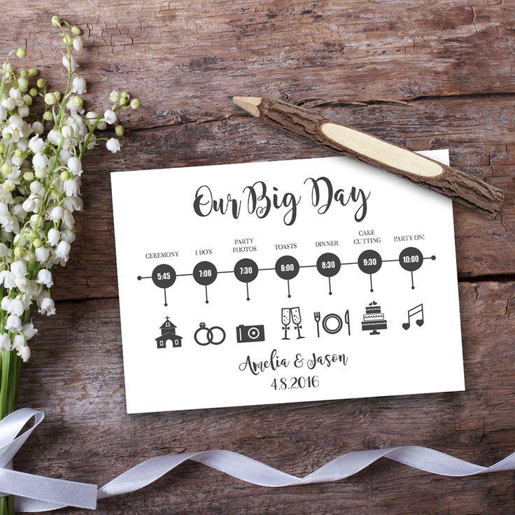The 25+ best Wedding timeline template ideas on Pinterest - sample advertising timeline