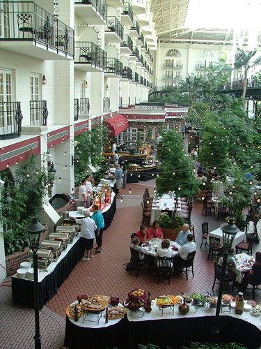 Tour of the Atriums & Gardens of Opryland - The Garden Conservatory