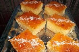 Basboussa a la noix de coco recette basboussa alg rienne - La cuisine algerienne samira ...
