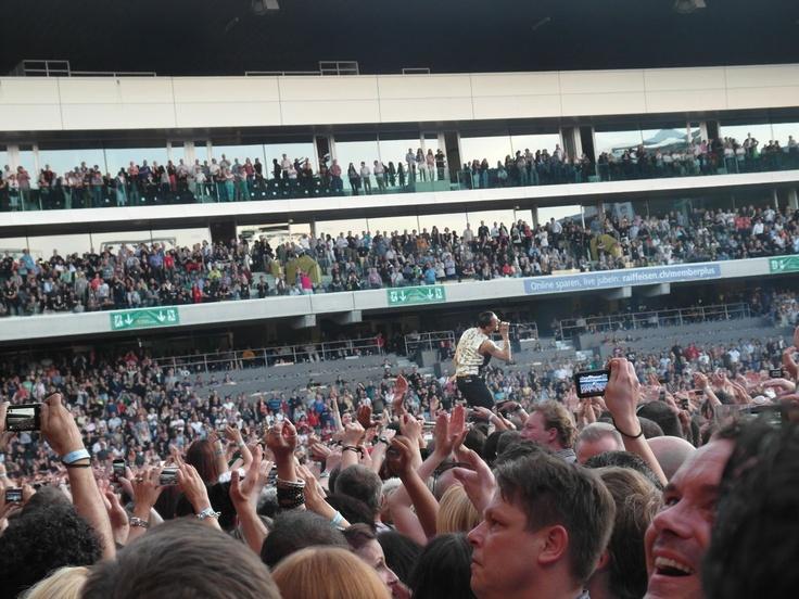 depeche mode @ stade de suisse