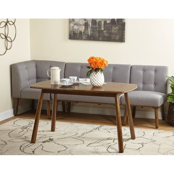 You'll love the Bucci 4 Piece Breakfast Nook Dining Set at Wayfair - Great Deals on all Furniture products with Free Shipping on most stuff, even the big stuff.