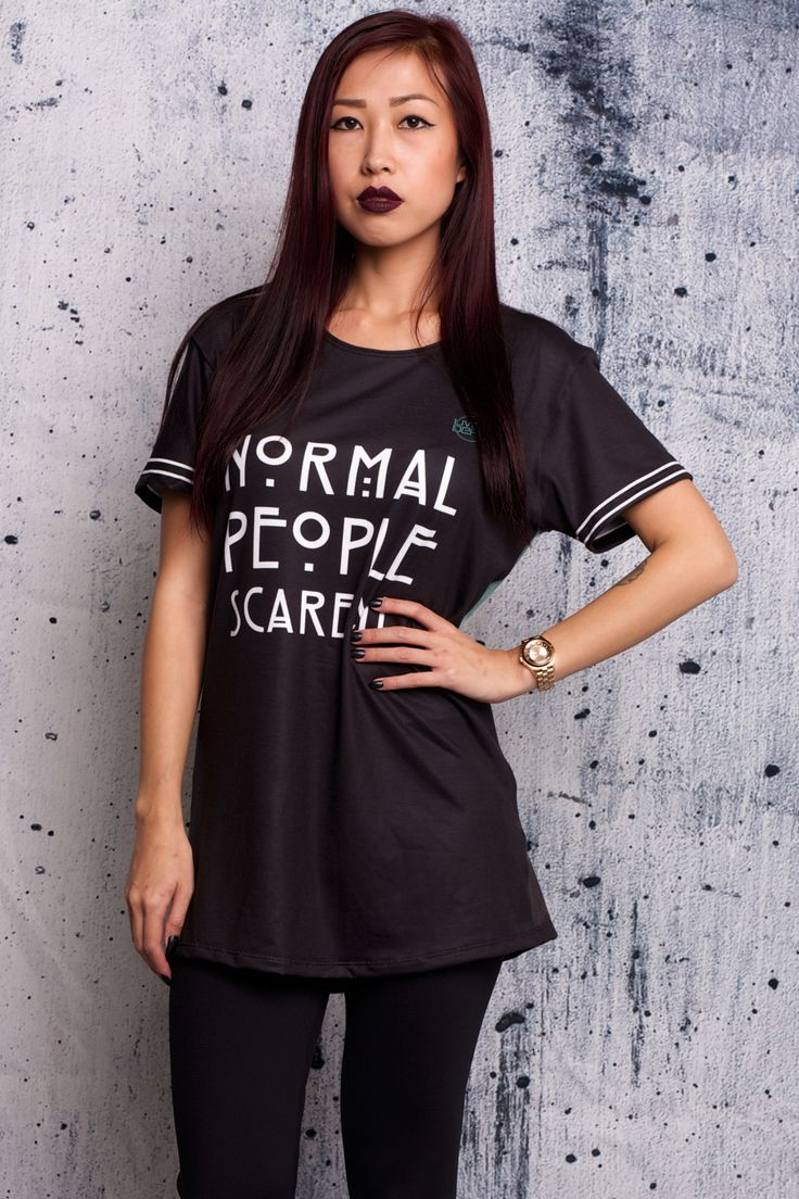 Normal People Scare Me Tee - $54 AUD