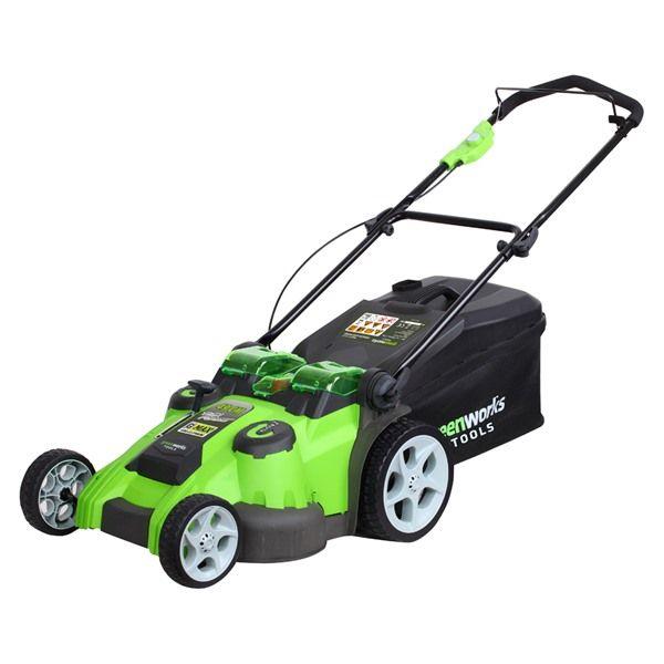 Greenworks 40V 49cm Dual Blade Cordless Lawn Mower