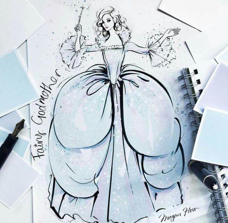 Megan Hess Illustration - Fairy Godmother