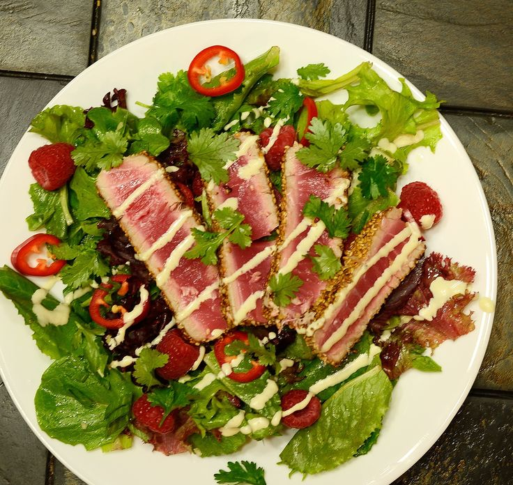 Seared Tuna with Wasabi Aioli - Powered by @ultimaterecipe