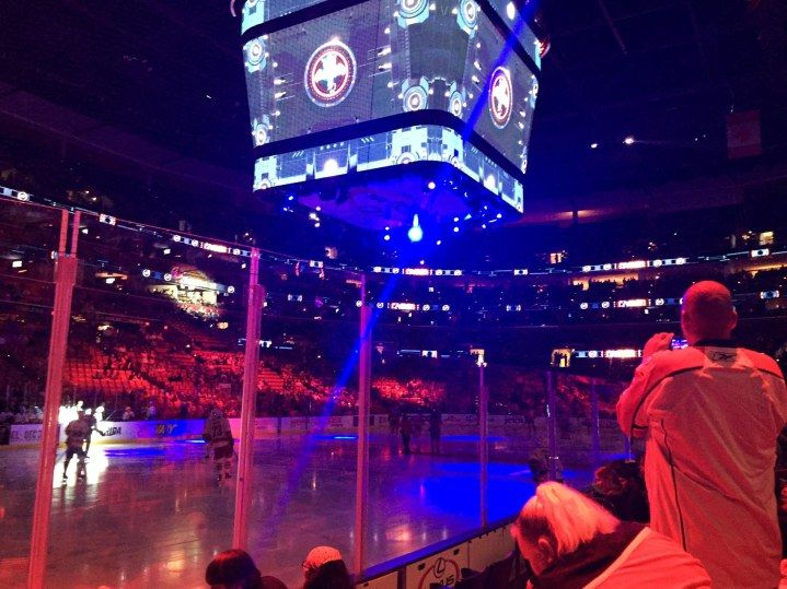 We went over yesterday (Sunday, Dec. 20, 2015) to the BB&T Center in Sunrise, Fla., and saw the Florida Panthers play the Vancouver Canucks in a National Hockey League contest. It was my first live pro hockey game.