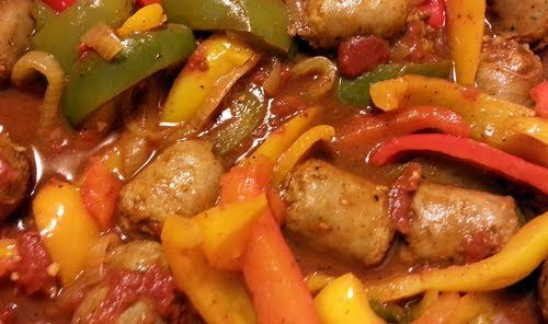 Sausage and Peppers - voted the BEST recipe snapshot