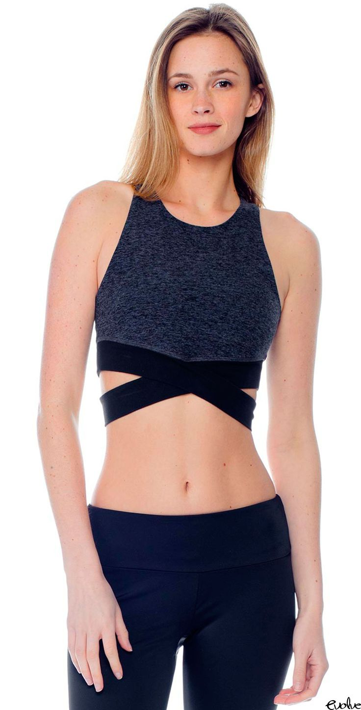 Wrap yourself in this seductive style sports bra from Beyond Yoga! Shop now at www.evolvefitwear.com.