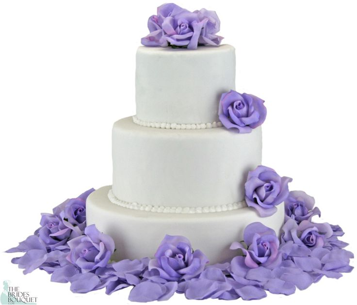 Beautiful, natural-looking roses and petals to decorate your wedding cake. This versatile cake flower set comes with 12 open rose heads and 200 matching rose petals. You can sprinkle the petals all o