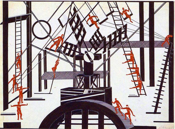 Александра Экстер:  Сатанинский балет , 1922