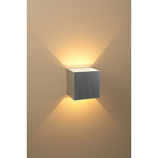 bruck lighting qb dimmable led wall sconce